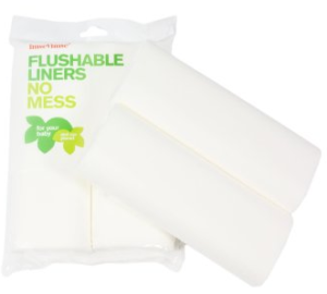 Flushible Liners