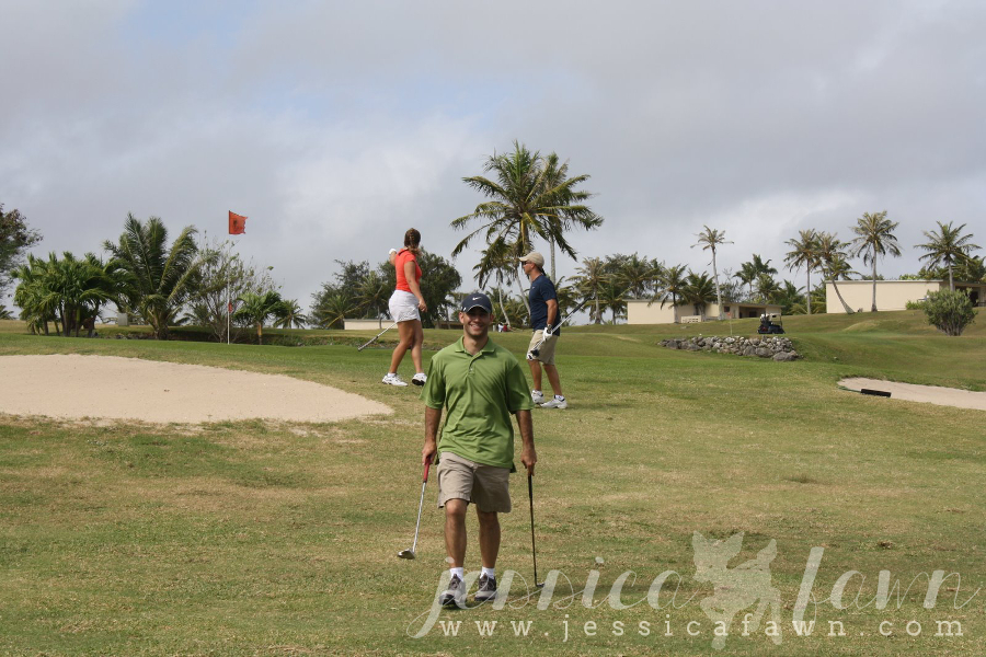Golf & the beach with my new camera... | JessicaFawn.com