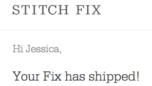 Fix has shipped | JessicaFawn.com