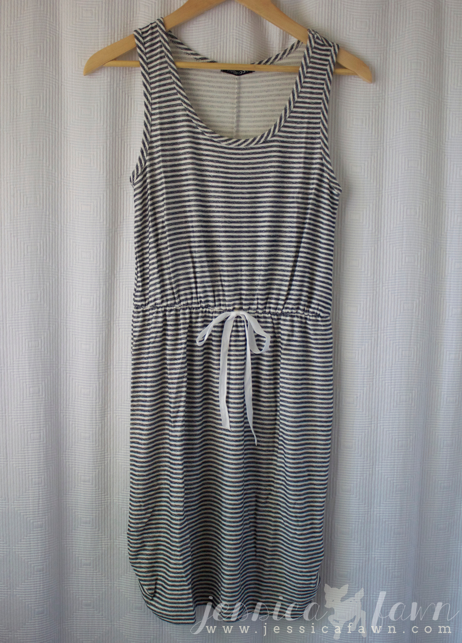 Papermoon Shea Striped French Terry Dress | JessicaFawn.com