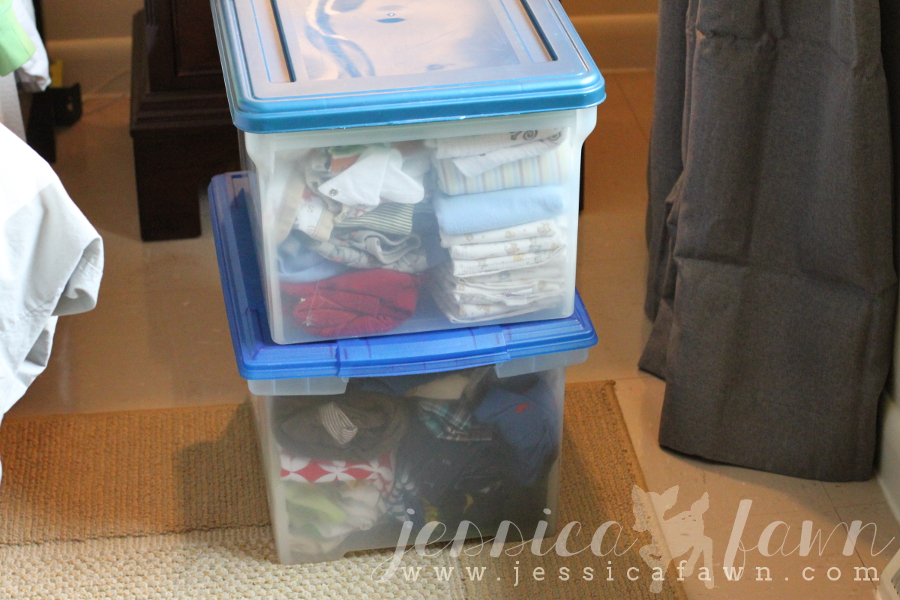 Let's Get Organized Linkup- Kiddos clothes | JessicaFawn.com