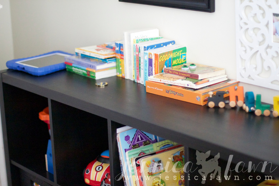 Let's Get Organized Linkup- Toy Storage | JessicaFawn.com